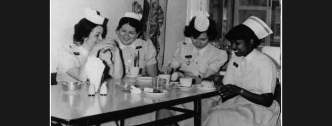 BACK IN THE DAY: NHS nurses
